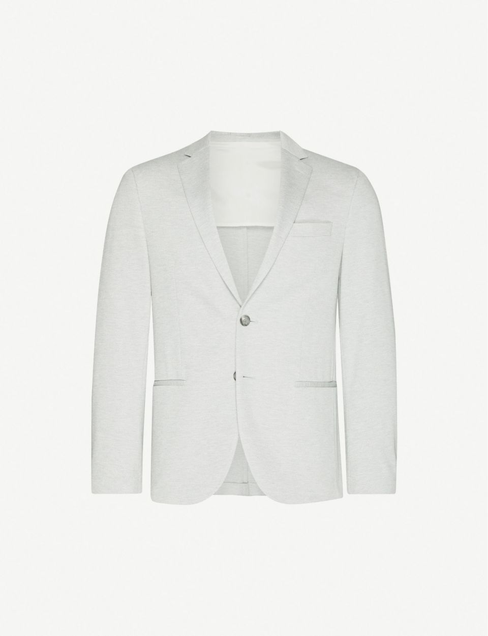 Single-breasted regular-fit stretch-woven blazer